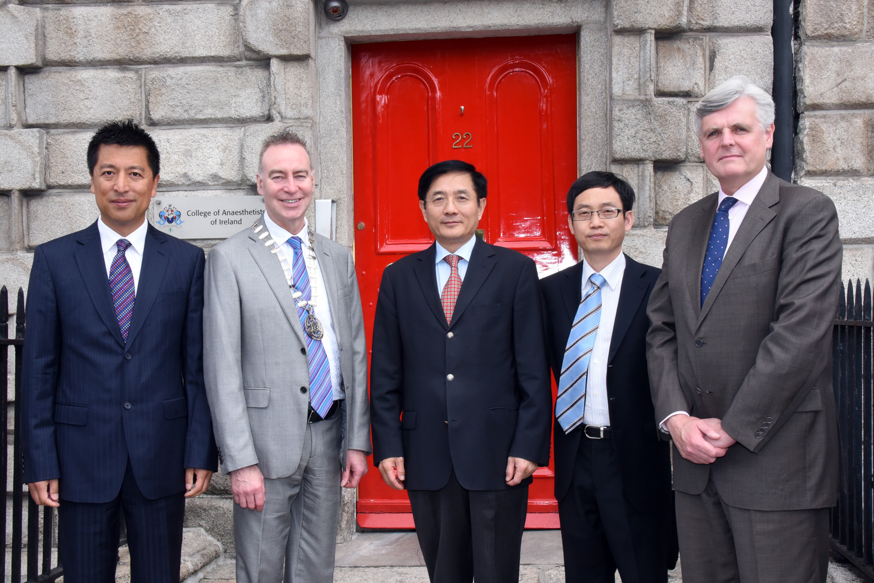 Chinese Ambassador Dr Yue Xiaoyong visits the College