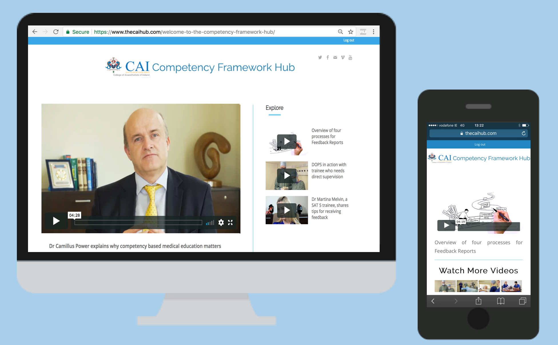 Competency Framework Hub Launch Day