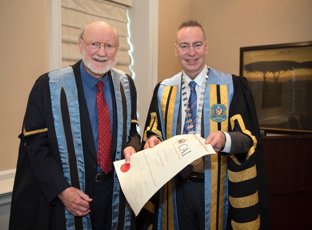 CAI Travels Overseas to Honour a Nobel Laureate - Video
