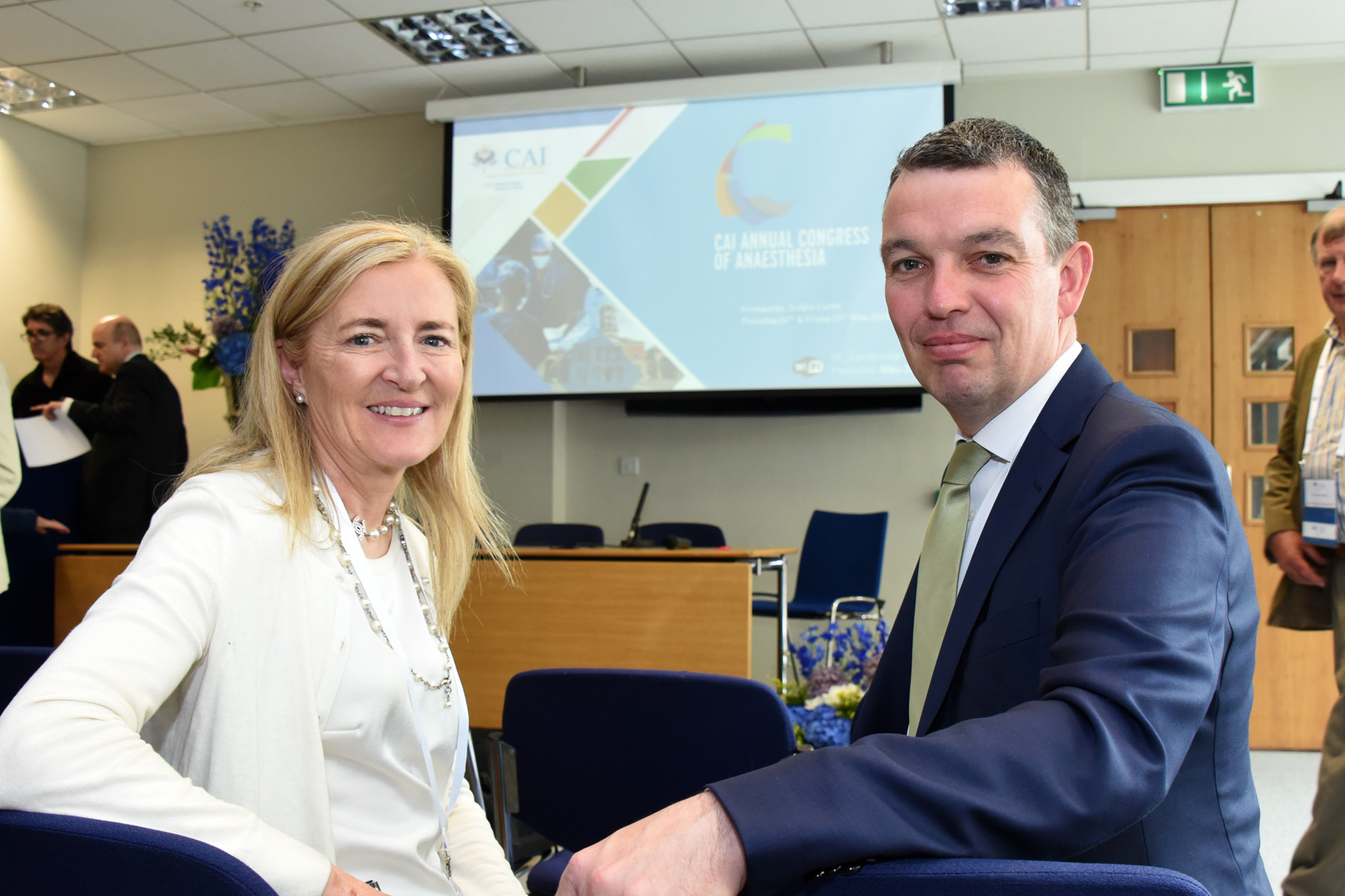 College of Anaesthetists of Ireland Annual Congress 2018 - Prof Ellen O'Sullivan and Mr Martin McCormack